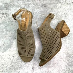 Lucky Brand Bertel Sandal Tan Size 10